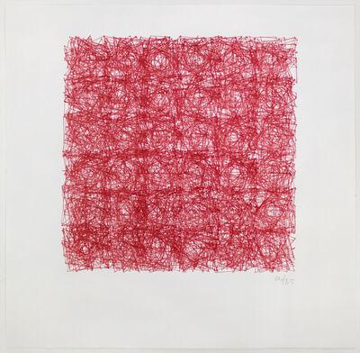 Vera Molnar, 'Structure de Quadrilatères (Square Structures)', 1985