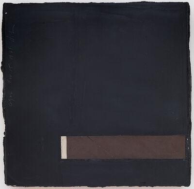 Donald Sultan, 'Cigar, 15 November', 1979