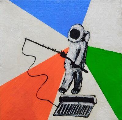 Brian Leo, 'Astronaut Fishing', 2016