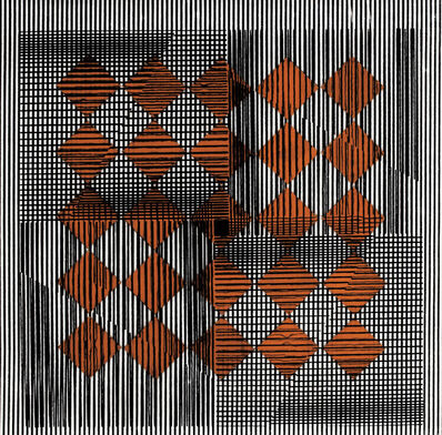 Reginald Neal, '25 Copper Squares (25 plazas de cobre)', 1967