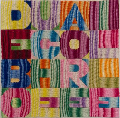 Alighiero Boetti, 'De bouche à oreille', 1993