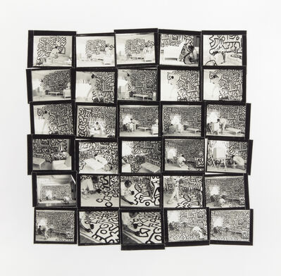 Annie Leibovitz, 'Keith Haring (Contact Sheet), New York City', 1986