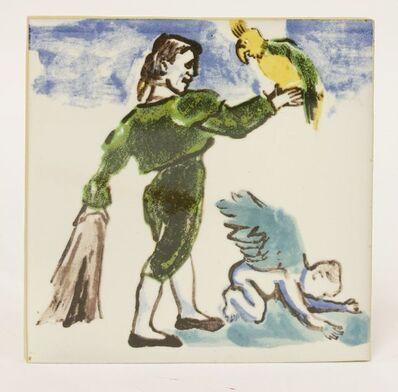 Paula Rego, 'Matador Com Papagaio E Anjo', 1989