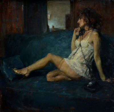 Ron Hicks, 'On the Phone'