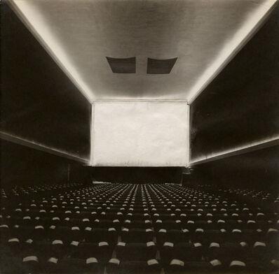 Ruth Bernhard, 'Fredrick Kiesler (Austrian-American, 1890–1965) Film Guild Cinema', c. 1929