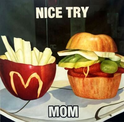 Shay Kun, 'Nice Try Mom', 2016