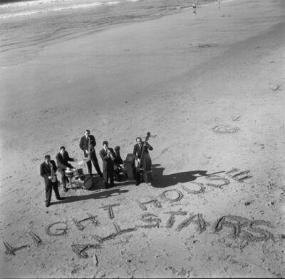 William Claxton, 'LIGHTHOUSE ALLSTARS, Hermosa Beach', 1955