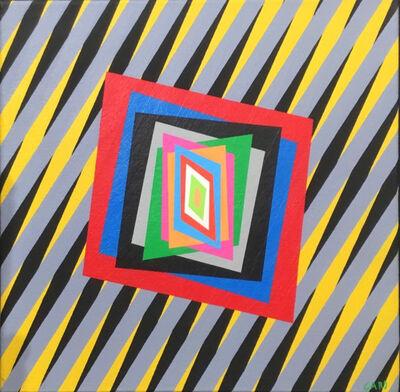 Ferruccio Gard, 'The Emotion of Colour in op Art/60/ N.14', 2017