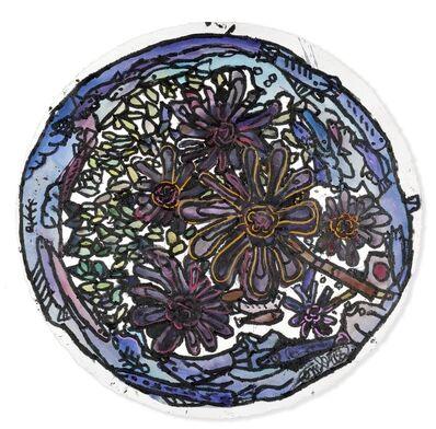 Robert Combas, 'Les fleurs noires', 2016