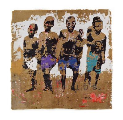 Armand Boua, 'Les Winzins D'Abobo I', 2015