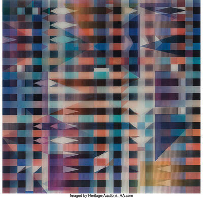 Yaacov Agam, 'Meridia, from Mexico Suite', 1985