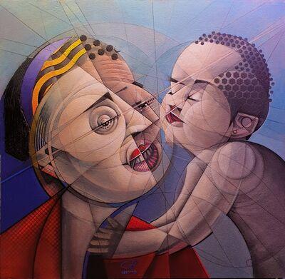 Agustín de la Cruz, 'The adoption kiss', 2019