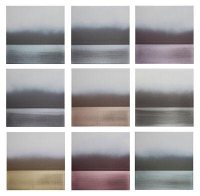 Miya Ando, 'Ukigumo Floating Cloud Grid', 2013