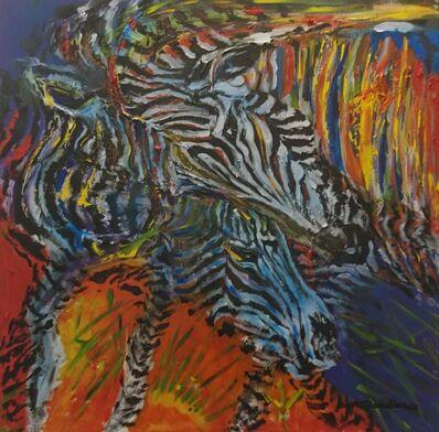 Ángel Caballero, 'Cebras', 2018