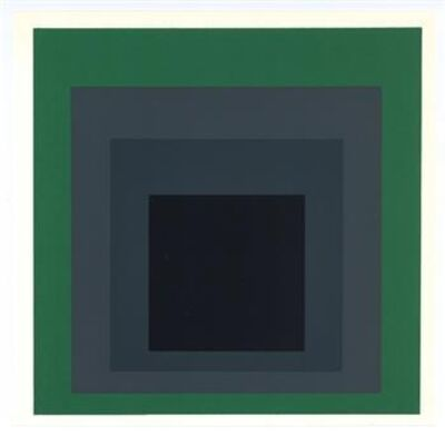 Josef Albers, 'Homage to the Square', 1977