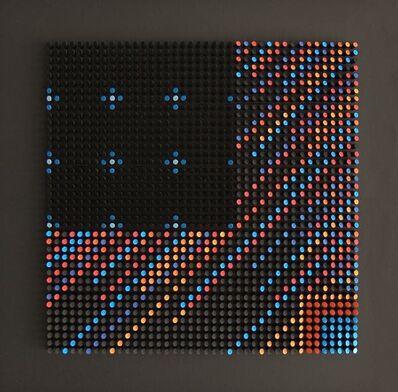 Franco Costalonga, 'Oggetto Quadro su Gradienti di Luminosità', 2001