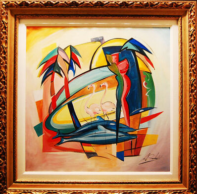 Alfred Gockel, 'Love in the Tropic'