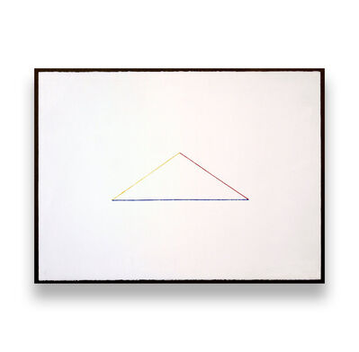 Fred Sandback, 'Untitled (Triangle)', 1987