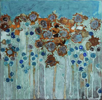 Piet van den Boog, 'Sunflower Field I', 2020