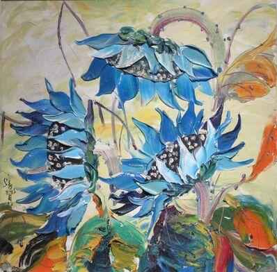 Zhang Shengzan 张胜赞, 'Blue flames', 2009