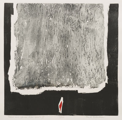 Ruth Eckstein, 'There are Stones like Souls II', 1967