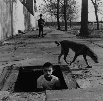 Arthur Tress, 'Two Boys and Dog, Coney Island', 1969