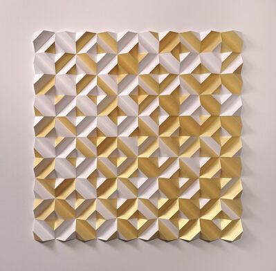 Matt Shlian, 'Some Caterpillars Stay Caterpillars (Gold)', 2019