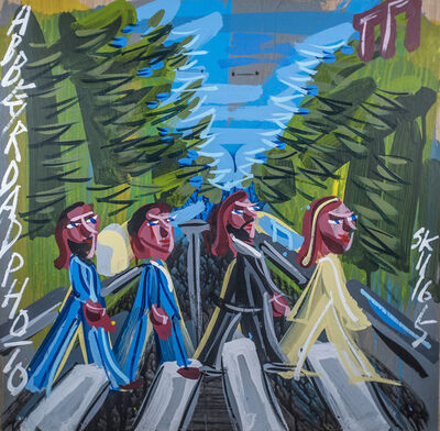 Steve Keene, 'Beatles - Abbey Road', 2015