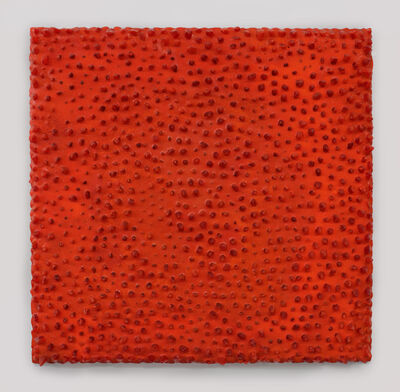 Carson Fox, 'Fire Orange Lumps', 2019
