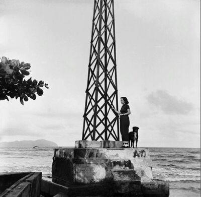 Alfredo Cortina, 'Higuerote', 1955