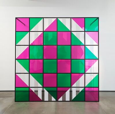 Daniel Buren, 'Colors, light, projection, shadows, transparency - n° 3:situated works ', 2015