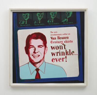 Andy Warhol, 'Van Heusen (Ronald Reagan)', 1985