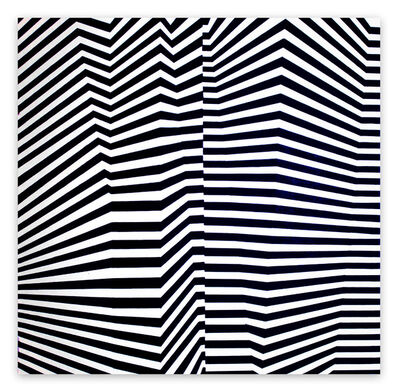 Cristina Ghetti, 'Folded pattern (Abstract painting)', 2019