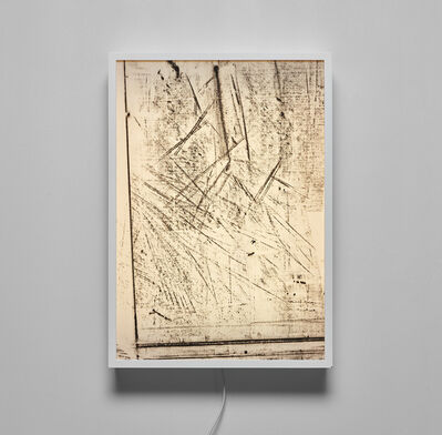 Virginia Overton, 'Untitled (work table rubbing)', 2011