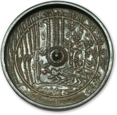 Unknown, 'bronze mirror (kagami)', 13-14th C.