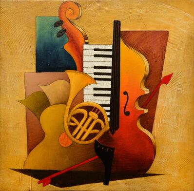 Emanuel Mattini, 'Mosaic Orchestration French Horn ', 2010-2019