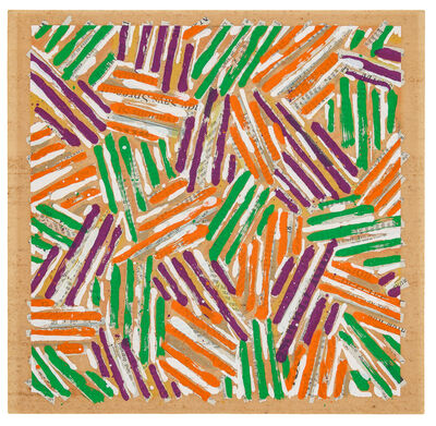 Jasper Johns, 'Untitled (catalogue cover for Jasper Johns / Screenprints)', 1977