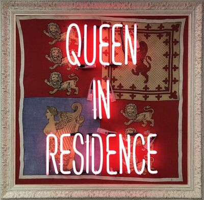 Illuminati Neon, 'Queen in Residence', 2019