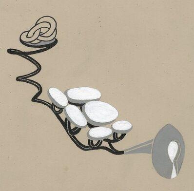 John Newman, 'White stones and key hole', 2007