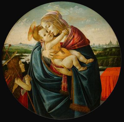 Sandro Botticelli, 'Virgin and Child with Saint John the Baptist', ca. 1490