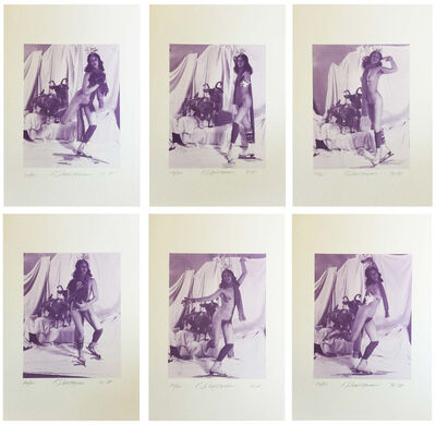 Carolee Schneemann, 'Ice Naked Skating', 1972