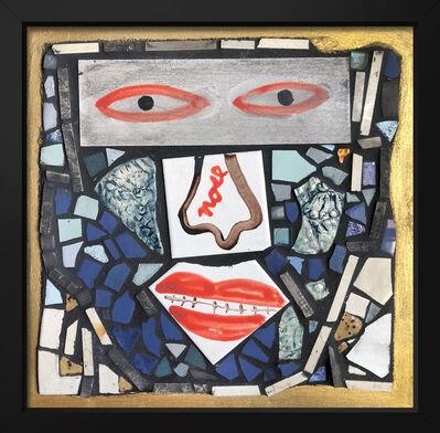 Isaiah Zagar, 'Nose ', 2018
