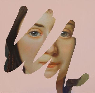 Lino Lago, 'Fake Abstract (Alexander Roslin) ', 2020