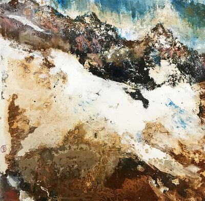 Alessandro Busci, 'Montagne neve e ruggine', 2018