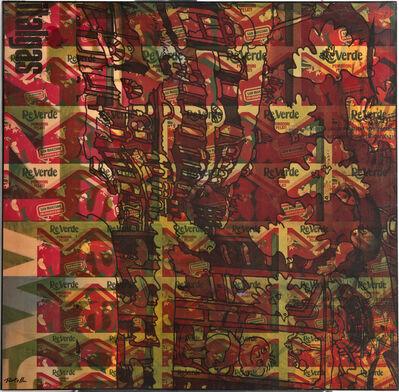 Mimmo Rotella, 'Reverde', 1973