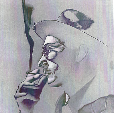 German Lorca, 'Fumante #2/10', 1954/2015