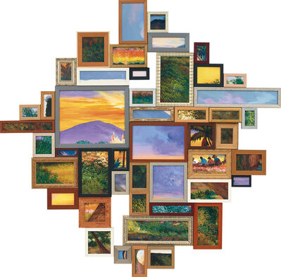 Alfredo and Isabel Aquilizan, 'Landscape Painting 2 (s2370)', 2010