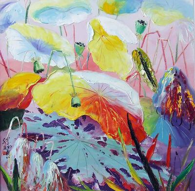 Zhang Shengzan 张胜赞, 'Lotus', 2008