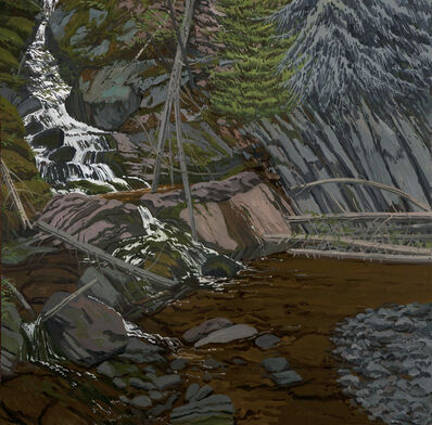 Neil G. Welliver, 'Bear Hole', 1991