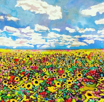 Andee Axe, 'A Bed of Flowers', 2020